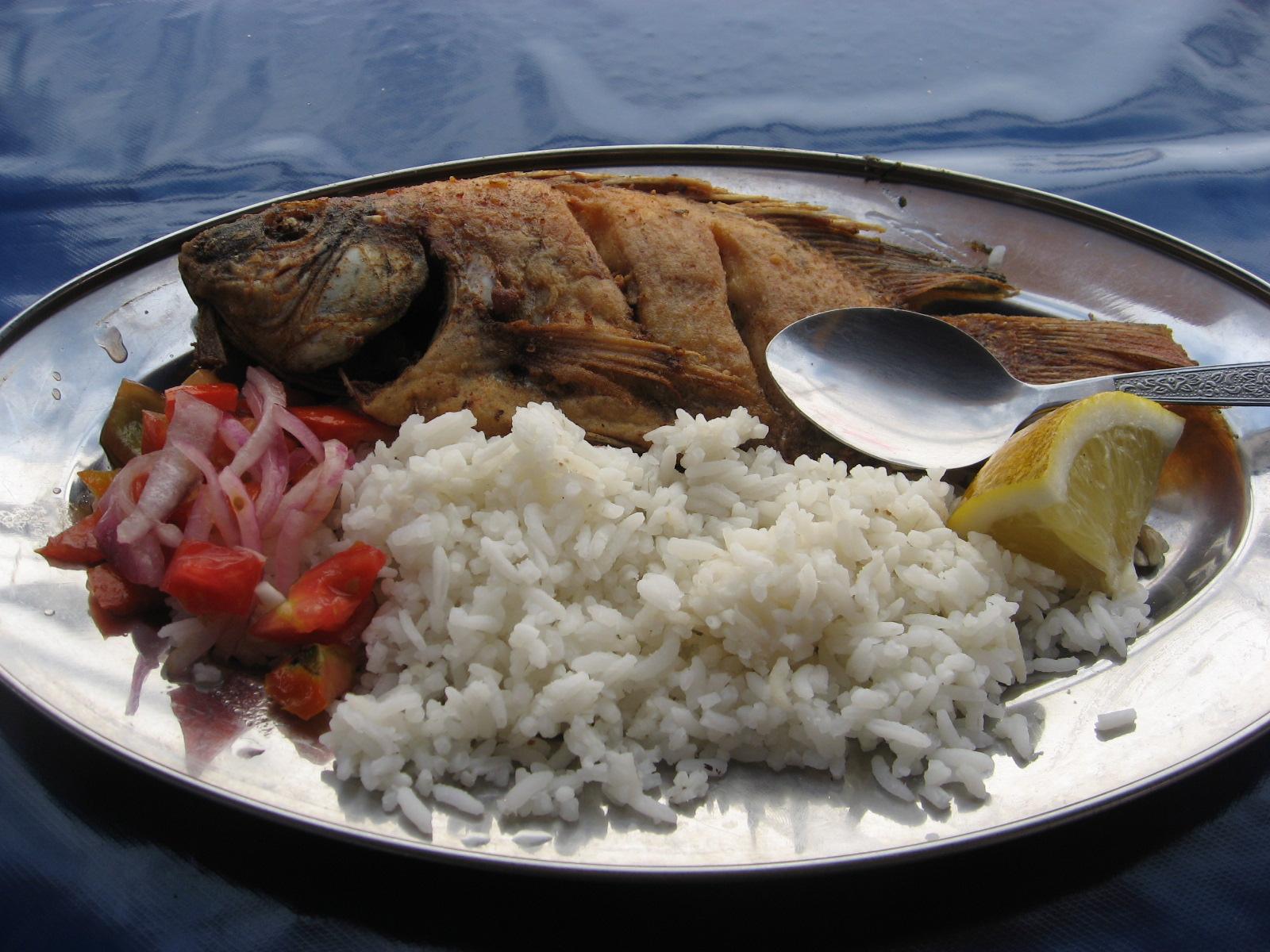 Ecuadorian food random musings for Fish and rice diet